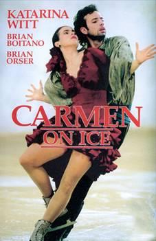 Katarina Witt in Carmen on Ice